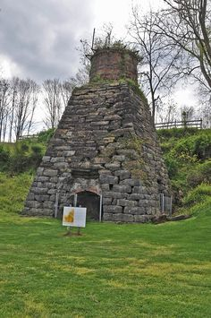 Foster Falls Historic District is a national historic district located near Max Meadows, Wythe County, Virginia.. . . pictured is Foster Falls Furnace.