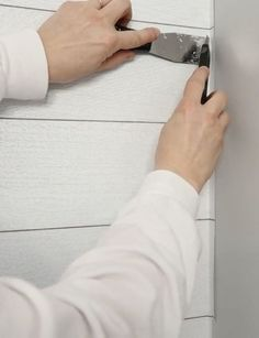 peel and stick wallpaper makeover