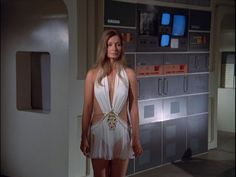 Space:1999 Of course the aliens need to wear transparent scraps of white satin.