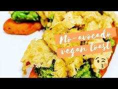 Vegan No-Avocado Toast Sweet Potato Toast, Why Vegan, Green Peas, Vegetarian Paleo, Canola Oil, Avocado Toast, Guacamole, Crisp, Spices