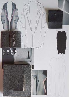 Fashion Sketchbook - fashion drawings & fabric layout; fashion design portfolio // Lisa Clayton