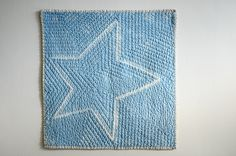 grumpystitches:    Carolanne's Shibori Star Whole Cloth Quilt by the workroom on Flickr.