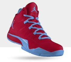 finest selection 32951 83fa0 Jordan Super.Fly 2 University Red Prism Sport Teal. Buracke DANXI · Blake  Griffin Shoes