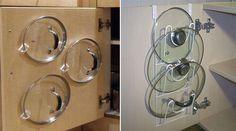 COMO ORGANIZAR ARMÁRIOS  Os armários e gavetas da cozinha podem ser lugaresmuito propícios para bagunça e isso acontece porque muitas vezes não procuramos soluções práticas na hora de organizá-los. Asolução é sempre deixá-los da forma mais fácil para localizar...