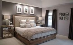 How to get new bedroom painting ideas? Pictures of Ben Moore Violet Pearl - Modern Master Bedroom Paint Colors Ideas painting ideas for master bedroom Relaxing Master Bedroom, Modern Master Bedroom, Modern Bedroom Design, Trendy Bedroom, Bedroom Designs, Bedroom Small, Master Bedrooms, Master Suite, Bedroom Color Schemes