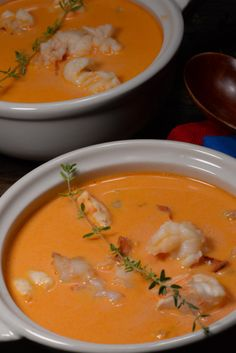 Icelandic Lobster Soup - International Cuisine