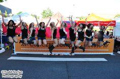 Boot Boogie Babes at U Village Sounds of Summer Concert Series -- Line Dancers CAN Jump!