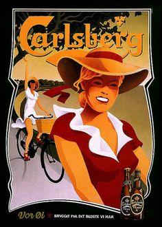 Carlsberg poster, 1956