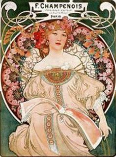 The French were the best back in those days when it comes to art and being avant-garde. No wonder Art Nouveau florished so well in there