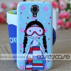 Free shipping! Marc by Marc Jacobs Samsung Galaxy S4 19500 Case Ugly Girl Light Brown