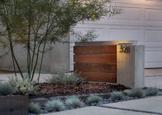 Modern Long Beach Drought Tolerant Design - Modern - Garden - Los Angeles - by California Landscape Construction Drought Resistant Landscaping, Drought Tolerant Landscape, Modern Landscaping, Front Yard Landscaping, Landscaping Ideas, Modern Landscape Design, California Garden, Exterior Design, Garden Design