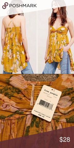 Free People Tunic Top Mirage Super cute top by Free People. Free People Tops Tank Tops