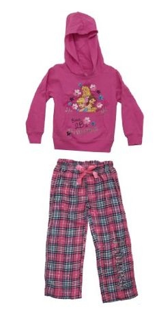 Disney Princesses Born Princess Glitter Youth Girls Hoodie And Pants 2 Pc Set ** You can get additional details at the image link.