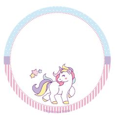 Unicorn: Free Printable Toppers and Wrappers for a Birthay Party. Unicorn: Free Printable Toppers and Wrappers for a Birthay Party.