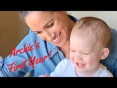 Archie Harrison Mountbatten-Windsor Turns One! (Archie's Adorable New Video) Meghan Markle Prince Harry, Prince Harry And Megan, Harry And Meghan, Prince Charles And Diana, Prince Philip, The Queens Children, Casa Real, Royal Babies, Princess Margaret