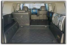 Rubber flooring base layer [Toyota FJ Cruiser].