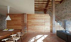 Genial casa rústica moderna en Cataluña (II)