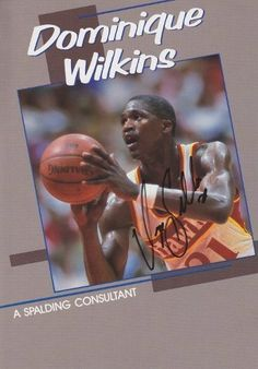 Dominique Wilkins Autographed  Hand Signed Atlanta Hawks 8x10 Photo  College and NBA Hall of Fame Inductee * Check out the image by visiting the link.