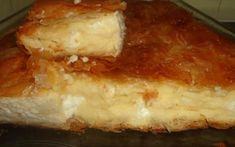 turopita-me-simigdalokrema Appetizer Recipes, Appetizers, Greek Recipes, Lasagna, Sweet Home, Ethnic Recipes, Food, Snacks, House Beautiful