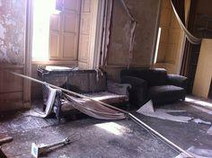 Abandoned manor house, Scotland.
