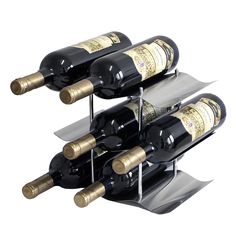 steel wine stand