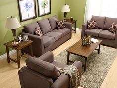 """Aman Furniture """"Hayden"""" Collection in """"Antelope"""". We Have This Canadian Made Sofa and Chair at Reliable Home Furniture!"""