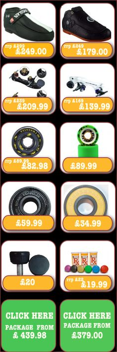 Get the best value inline and quad/roller derby skates in the UK with starter packs, pads, protection, helmets at the best prices. Great service with fast, free delivery! Roller Derby Skates, Quad Skates, Roller Skating, Skates For Sale, Inline Skating, Quad Roller Skates, Roller Blading