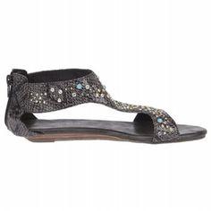 $64.99 Coconuts Isthmus Sandals Black Women`s Sandals class