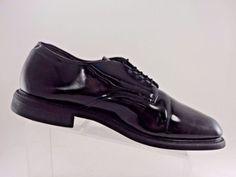 34e905fa8 Bates Black Patten Leather Oxford Dress Formal Mens Shoes Size US 11 E EU 44