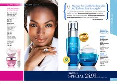 eBrochure | AVON Anew Vitale- Ages 30  Look like you have slept 8 hours even if you haven't. Or Skinvincible for any age suitable for sensitive skin reduces the look of age damage. Order online at https://andreafitch.avonrepresentative.com/
