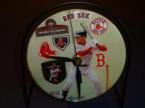 Jacoby Ellsbury Boston Red Sox Recycled CD Clock Art