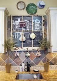 Diy Fake Window Over Kitchen Sink Google Search
