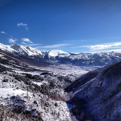 Abruzzo ….What an amazing view!!!    Thanks to the photographers Andrea Del Cotto    to learn more about Abruzzo on http://www.visitabruzzo.co.uk/