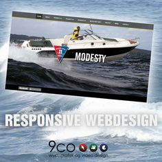 Take a look at the new webresponsive page to Modesty Boats that we just finish www. Web Design Inspiration, Boats, Ships, Boating, Boat
