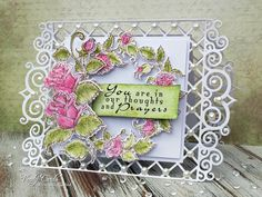 Yay it's Heartfelt Wednesday! Here is my card this week I made using   the Classic Rose Collection !     These stamps were so easy an...