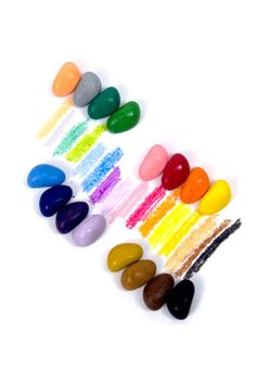 The Wooden Wagon Just Rocks 64 Crayons in 16 colors, $29.95, available at The Wooden Wagon.  http://www.refinery29.com/under-50-dollar-holiday-gifts#slide26  $20 to $30