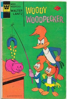 Woody Woodpecker #151 Whitman Comics Variation F