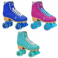 Candi Girl Recreational Indoor Outdoor Roller Skates From Roller Derby  #Rollerderby