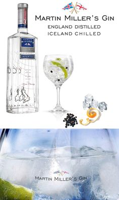 Gin Gin Gin, Martin Miller's Gin served in a balloon glass, just the way it should be. Just like a glass of wine, you want to be able to smell all those aromatics!