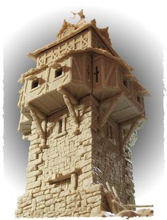 Tabletop World New Guard Tower - picture1