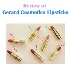 http://www.pintalabios.info/en/reviews/view/en/14 New #review on pintalabios.info Gerard Cosmetics #Lipsticks review Gerard Cosmetics Lipsticks review  Firstly, the packaging has been compared repeatedly to MAC packaging. The size and shape of these are definitely comparable. The colour (gold) is obviously that much more glamorous than the black packaging of MAC. However, the packaging quality is not on par with MAC. MAC has a thick sturdy packaging, whilst these are more plastic-like and…