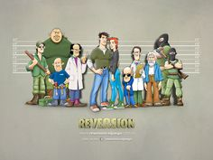 Reversion - Adventure Game. We, at soluciones 3f, developed this great game available in spanish english, etc. for your pleasure for FREE