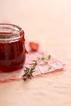 Strawberry Jam with Redcurrant
