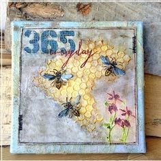 Zoe Hillman is this week's guest artist at Ranger Ink. Zoe shares a step-by-step tutorial for a mixed media canvas that is full of texture and layers. You will love seeing how Zoe created t…