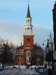 Burlington, Vermont January 2013. Photo taken by Rebecca Kjolberg.