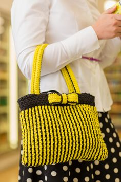 Anime Purse - crochet bag - Nicoletta Tronci