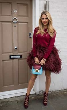 Bewitching Burgundy — Sophie Hermann Fun To Be One, My Favorite Color, Burgundy, Dress Up, Beautiful Women, Street Style, Style Inspiration, Gowns, Stylish