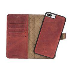 iPhone 7 Plus / 8 Plus Detachable Wallet Case  Snap-on Case
