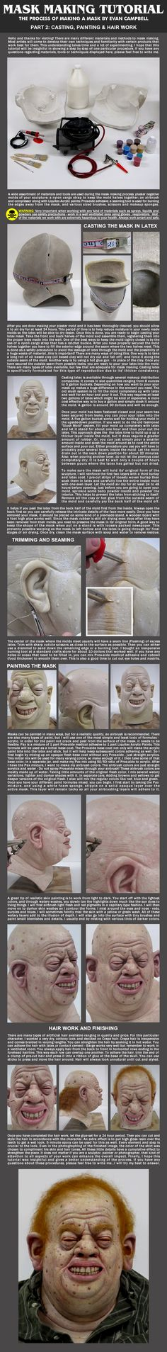 Mask Making Tutorial: Part 2 by *EvanCampbell on deviantART