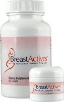 Breast Actives 1 KIT Breast Enhancement Kit by Breast Gain Plus 1 - 60 Tablet Bottle and 1 - 2 fl Oz Jar of Cream by Breast Actives. $35.90. Online Breast Enhancement Exercise Program. No Embarrassing Doctor Visits. Safe and Natural Breast Enhancement. Discreet Shipping & Billing Worldwide. 1 Month Supply. This revolutionary and unique exercise program and natural supplements helps enhance your Breasts Naturally.
